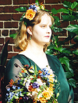 Matron of Honor at a friend's wedding, 2000