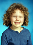 5 1/2 years old, Kindergarten school picture
