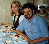 Thanksgiving with the relatives (his), uh, 1993, I think